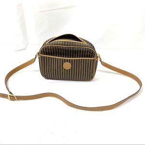 Fendi Handbag Crossbody Brown Mini